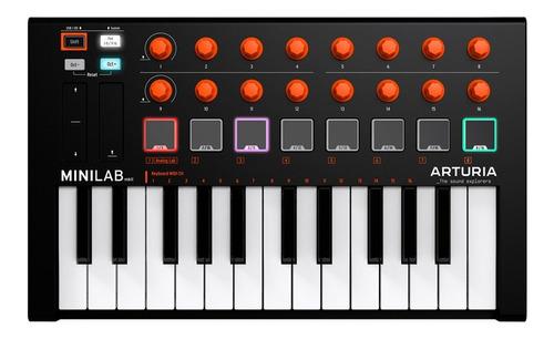 Imagen 1 de 10 de Arturia Minilab Mkii Orange Controlador Midi Cuotas