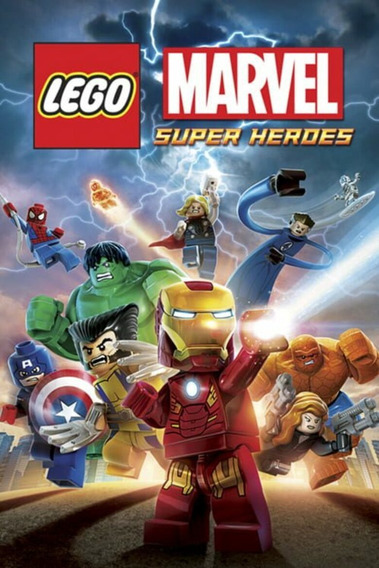 Lego Marvel Super Heroes Ptbr Steam Key Código 15 Dígitos