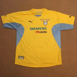 Camisa Lazio Away 2001/02 - Puma