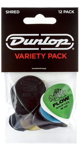 Picks Para Guitarra Dunlop Pack X12 Pvp 118