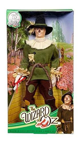 Imagen 1 de 2 de Barbie Coleccionista Mago De Oz Espantapajaros Muñeca