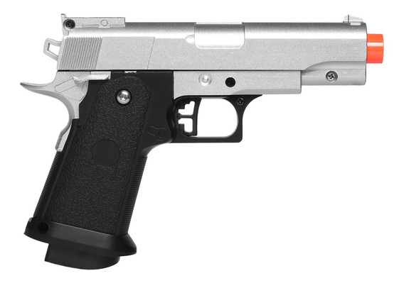Pistola De Airsoft Spring G10s Modelo 1911 Baby Full Metal 6mm - Galaxy