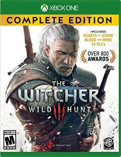 Juegos,witcher 3 Wild Hunt Edición Completa - Xbox One..