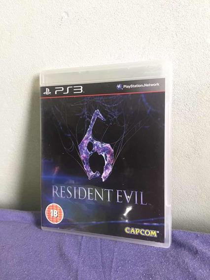 Resident Evil 6 Para Ps3 Em Mídia Física