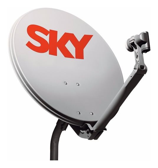 Antena Sky+lnb Duplo Satellite Novo Original
