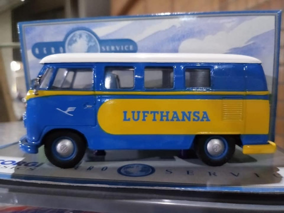 Miniatura Vw Kombi Lufthansa 1:43 Corgi / Raríssima !!!
