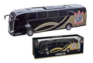 Ônibus De Brinquedo Iveco Corinthians Timão Usual Brinquedos