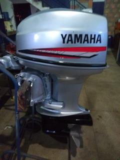 Motor De Popa Yamaha 40 Hp 2 Tempos Partida Elétrica