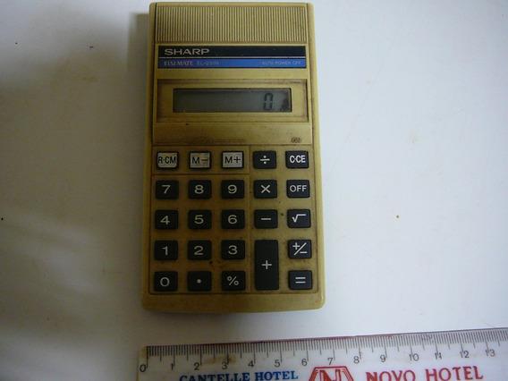 Calculadora Sharp - Antiga - Funcionando, Mas Leia O Anúncio