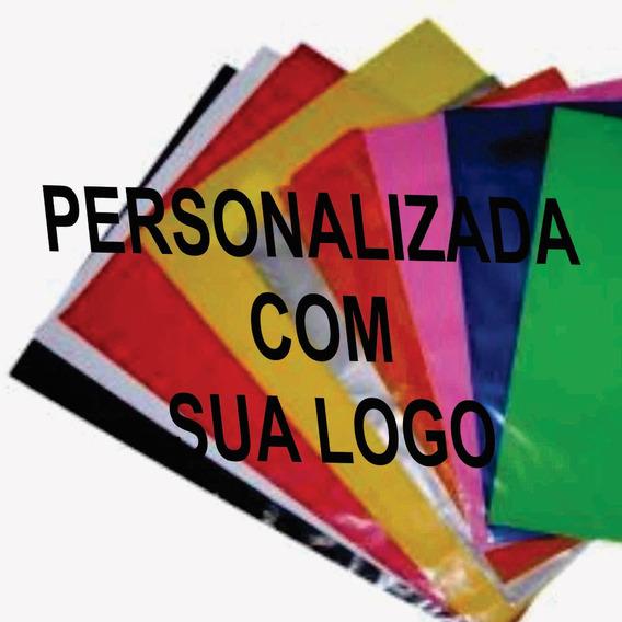 Sacola Personalizada 16x20 Espessura 012 - 500 Sacolass