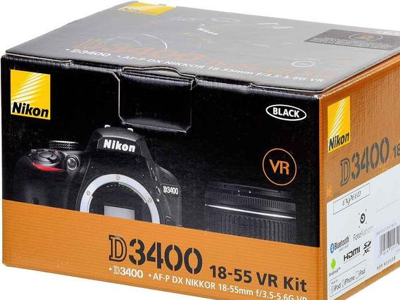Camara Nikon Nueva + Vr Kit 18-55 Con Envio Gratis