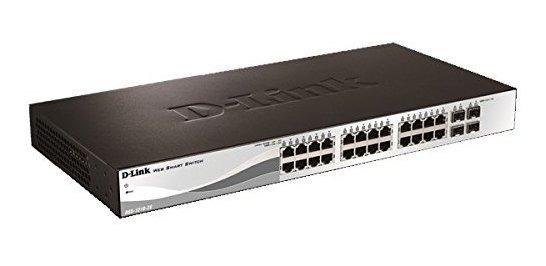 Switch D-link Web Smart 24-port Gigabit Poe Switch ®