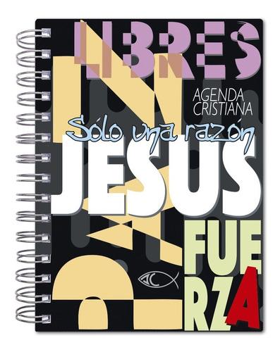 Imagen 1 de 5 de Agenda Cristiana 2022 - Tapa Dura (art. 1084) 15cm X 20cm