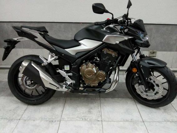 Honda Cb500 F 2020 0km Negro Mate Avant Motos