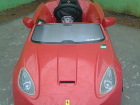Carro Ferrari Elétrica - Semi Novo