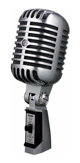Microfone Dinâmico Shure 55sh Series Ii - Ac0970