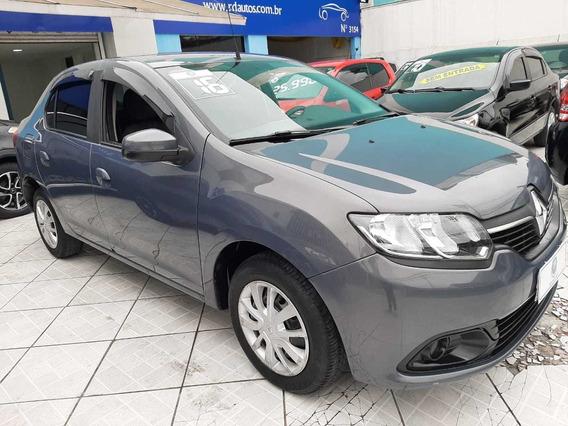 Renault Logan Auth 1.0 Flex 2016