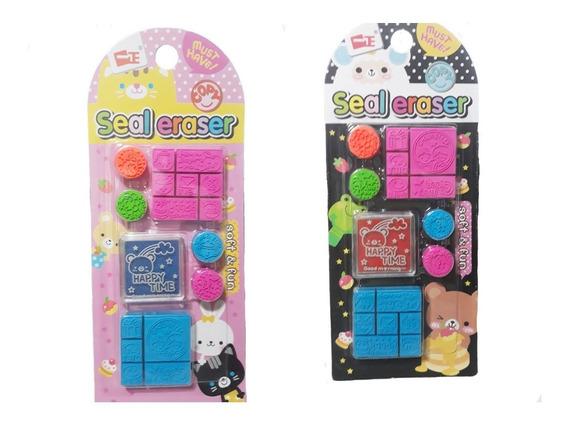 Sellos Infantiles Mini Souvenir Cumpleaños Para Regalar!!