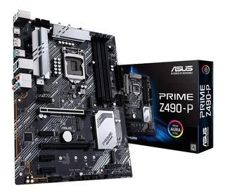Motherboard Asus Prime Z490-p S1200 Intel Ddr4 Intel Z490