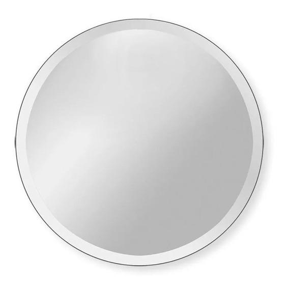 Espejo Redondo 120 Cm Diámetro Con Bisel 1 Pulgada + Envío