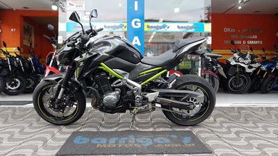 Kawasaki Z 900 Abs 2018 Cinza Impecável