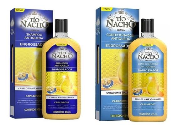 Tio Nacho Kit Engrossador Shampoo + Condicionador 415ml