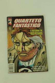Hq Quarteto Fantástico Retorno De Reed Richards Ed. Abril