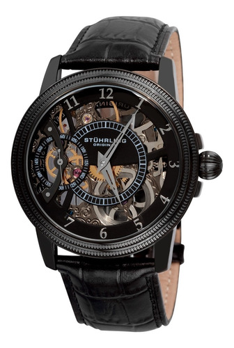 Imagen 1 de 6 de Reloj Stuhrling Hombre Coleccion De Lujo