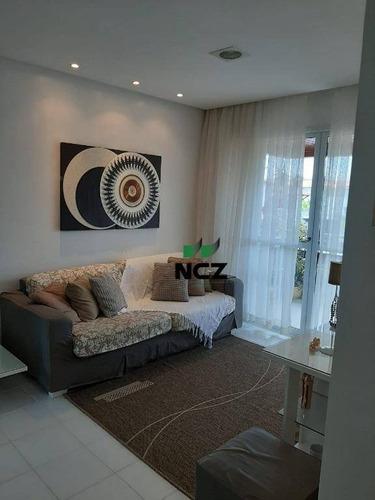 Apartamento Com 2 Dormitórios À Venda, 70 M² Por R$ 365.000,00 - Jacuipe - Camaçari/ba - Ap2909