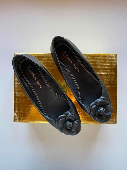 Zapatos Guillermina Cuero Luciano Marra