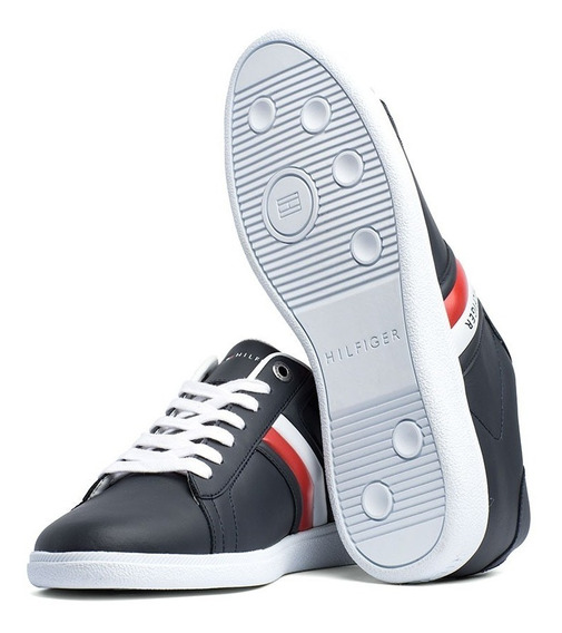 Zapatos Tommy Hilfiger En Cuero Original + Envío Gratis