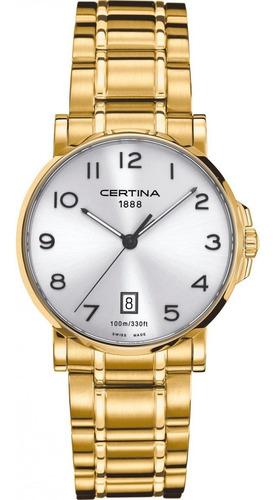 Relógio Certina - C017.410.33.032.00 - Vidro De Safira
