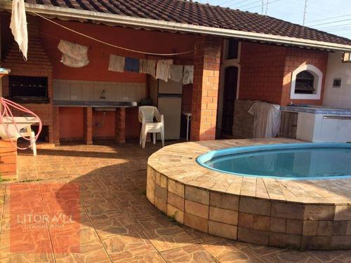 Imagem 1 de 15 de Casa Com 3 Dormitórios À Venda, 1 M² Por R$ 280.000,00 - Estância Balneária De Itanhaém - Itanhaém/sp - Ca1534
