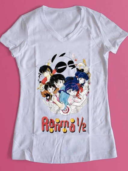 Playera Ranma 1/2 Serie Anime