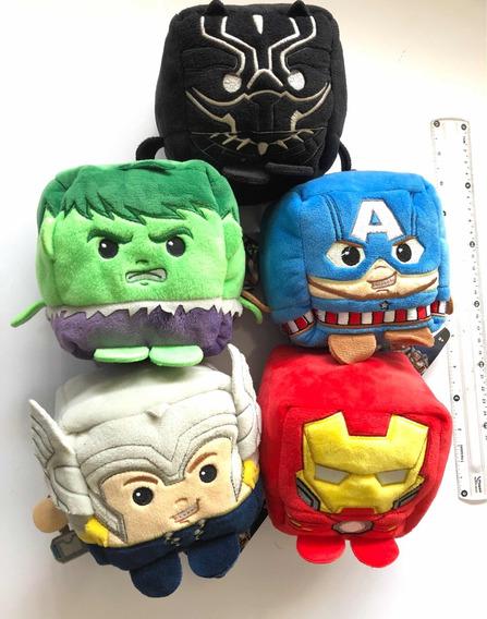 Disney Peluche Cubo Avengers Assemble 5pzs Ironman Thor