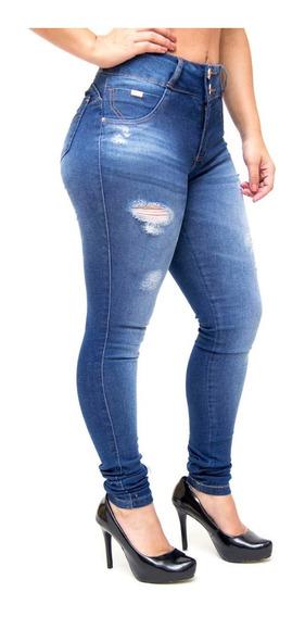 Calça Jeans Feminina Levanta Bumbum - Vários Modelos