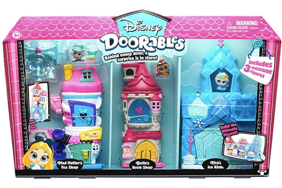 Juguetes Niñas Disney Doorables Playset. Tipo Shopkins
