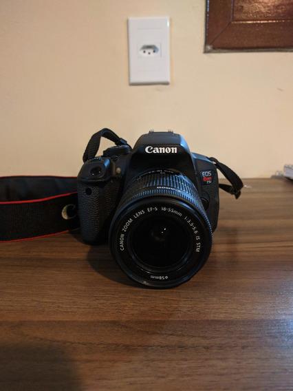 Canon Eos Rebel T5i Dslr + Acessórios.