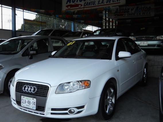 Audi Trendy A4 Multitronic 2007, Aut, Clima, E/e, Piel, Q.c