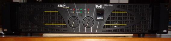 Amplificador Potencia Skp Pro Audio Max 300x 150+ 150w Usado