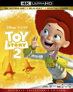 Toy Story 2 4k + Blu-ray + Digital Hd