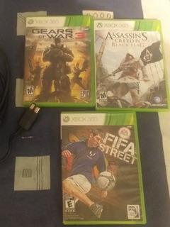 Juegos Xbox 360 Original Fifa Street Y Gear Of War 3