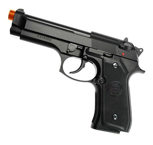 Imagem 1 de 4 de Pistola Airsoft M92 Kwc Spring 6mm