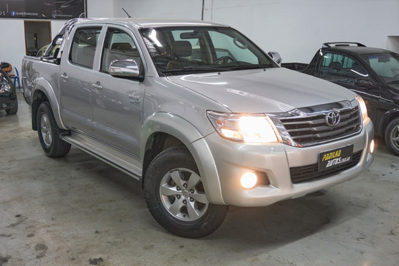 Toyota Hilux 2.7 Srv 4x4 Automático 2013