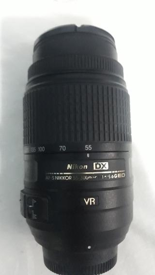 Lente Nikon 55-300 Mm