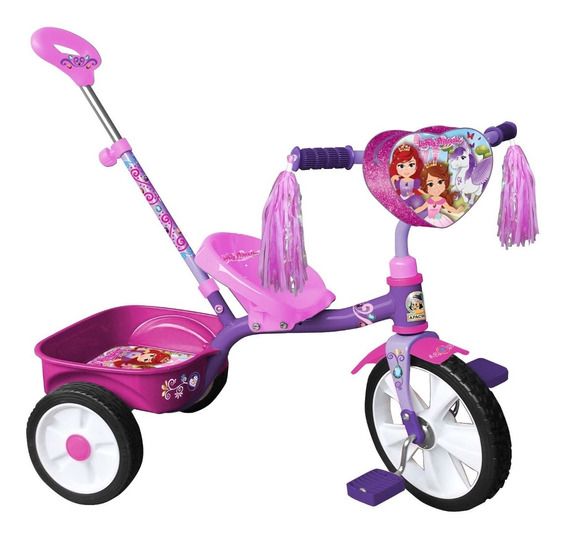 Triciclo Lovely Princess Empuje R12 Apache