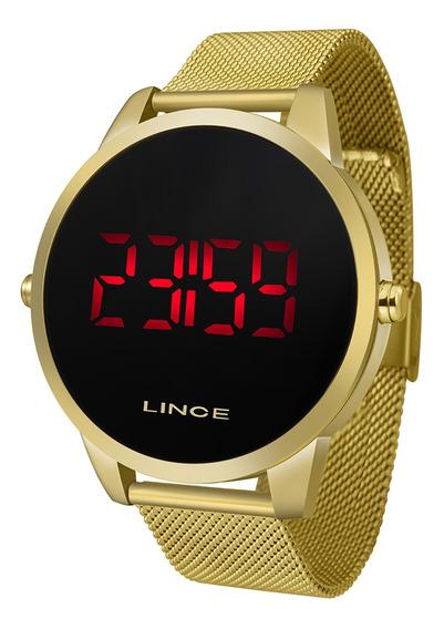 Relógio Lince Unissex Led Mdg4586l Pxkx