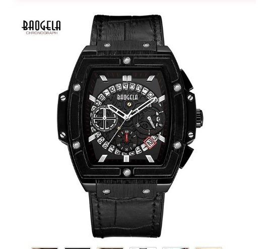 Relógio Baogela Chronograph Quartz Esport Resistente D,agua