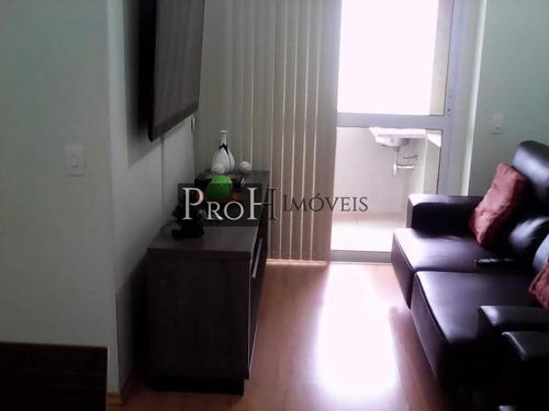 Imagem 1 de 15 de Apartamento Para Venda Em Santo André, Casa Branca, 3 Dormitórios, 1 Suíte, 2 Banheiros, 1 Vaga - Jflordea