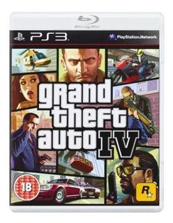 Juegos,ps3 Grand Theft Auto Iv Edición De Platino